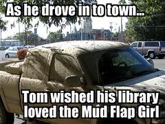 muddy, truck
