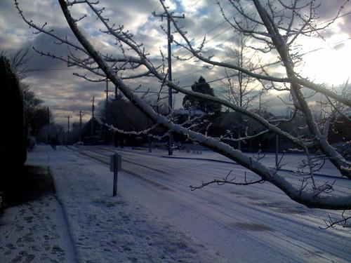 Snow on Queen Anne