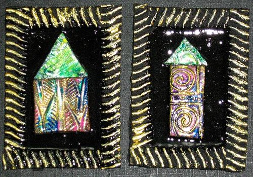 Set Of 2 House ATCs