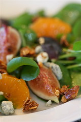 Sweet Cress and Fruit Salad with Grapefruit-Verjus Vinaigrette 2