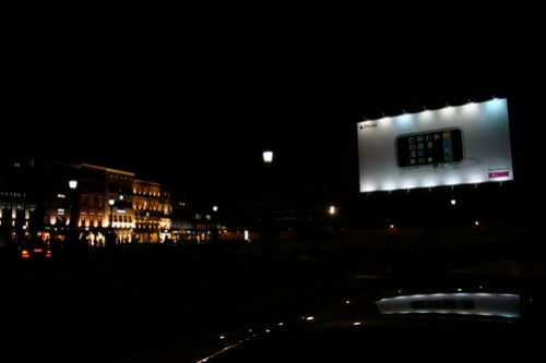 iPhone Werbung in München