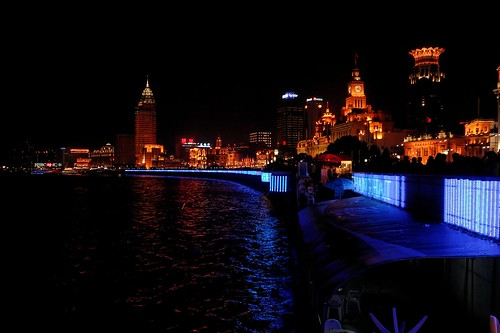 Shanghai - the Bund @ night