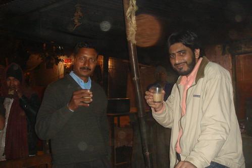 Jaipur路上1-67路邊賣茶