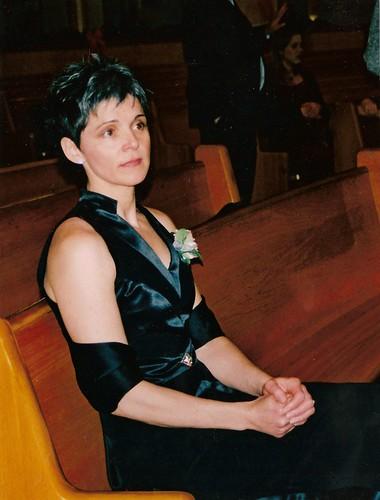 Mom, looking stunning at my wedding