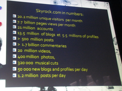 LIFT08 025 Skyrock Numbers (Pierre Bellanger)