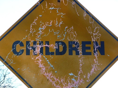 Children...with Silly String