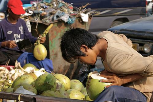 coconut huskers