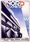 Cassandre. Poster Nord Express.
