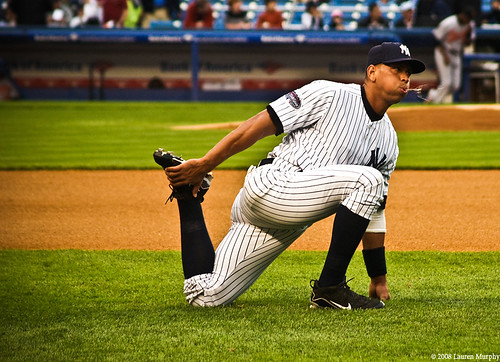 Alex Rodriguez by Lauren Murphy.
