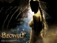 Angelina Jolie em A Lenda de Beowulf - Clique para baixar este wallpaper