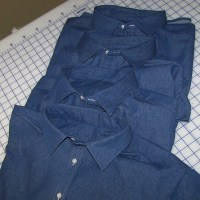 Denim Work Shirts - Vogue Mens 8096