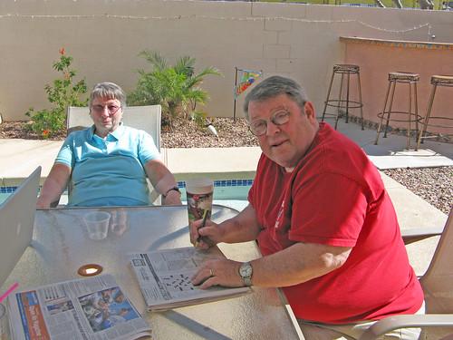 Ray & Sue enjoying AZ life
