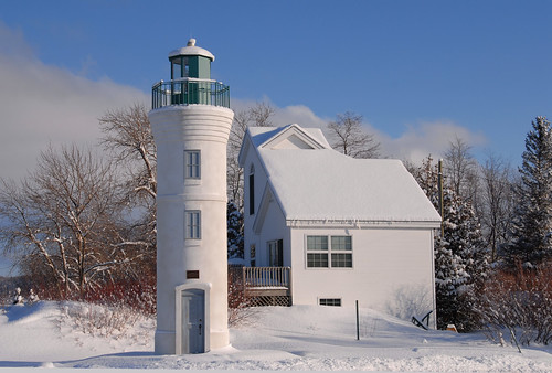Manning Memorial Lighthouse, Empire, MI by Jim Sorbie