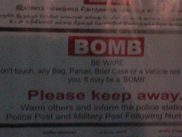 Bomb! Warm others!!