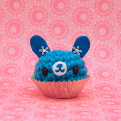 Amigurumi Blueberry bon bon bunny rabbit