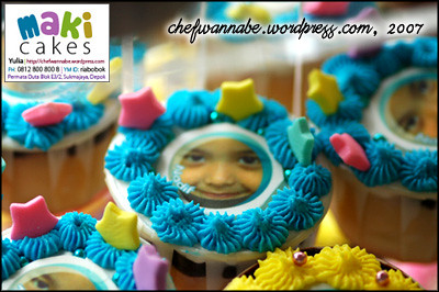 Edible Photo Cupcake