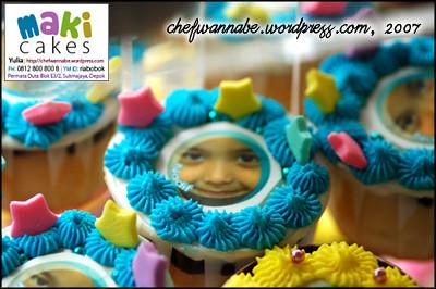 Edible Photo Cupcake