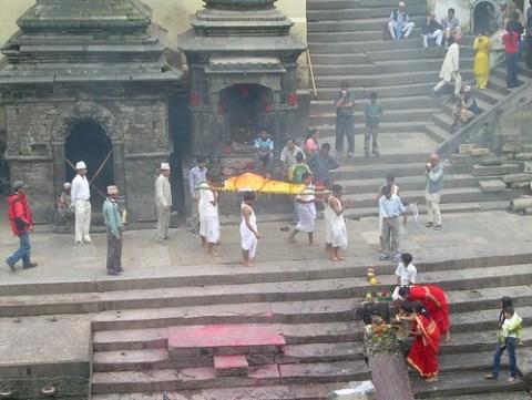 Funeral en Pashupatinath