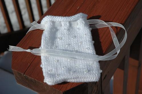 Girls' version of communion bag