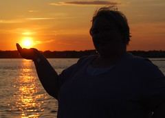 Shannon Holding the Sun!