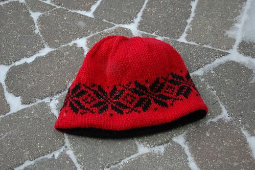 Hubby's Very Warm Hat