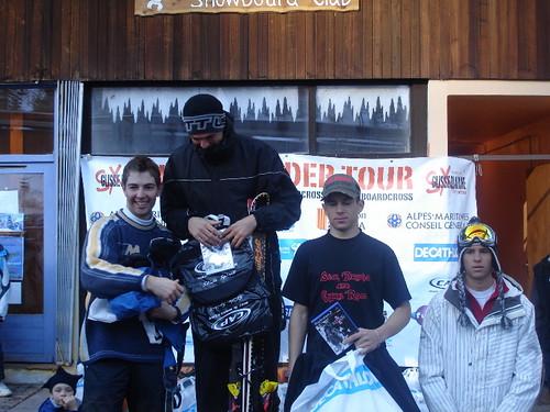 podium ski
