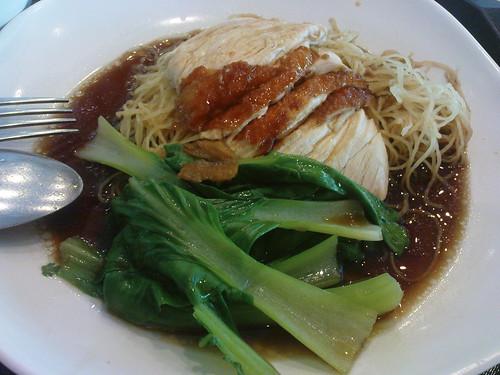 Salah satu makanan di food court Bugis Junction