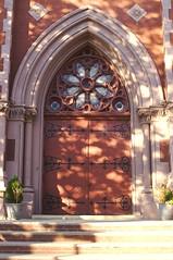 Church Door, by Billingham