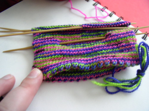 Sock#1 for Maggie