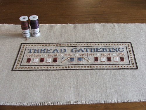 Thread Gathering - Little House Needleworks