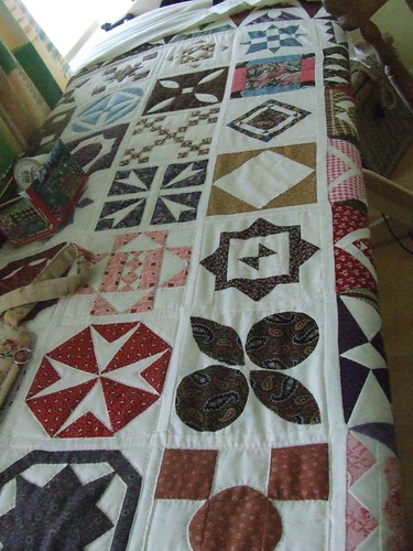 Last Row of Quilting!