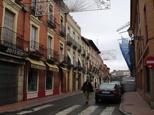Calle Cerrajeros en la actualidad