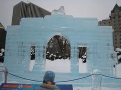 Menin gate. memorial.. ice version