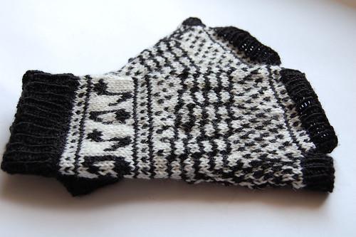 Handschuh innen