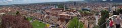 Panorama dalla collina di Graz.