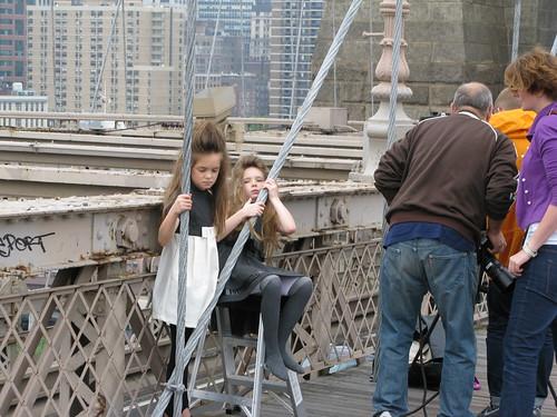 Modelki na moście