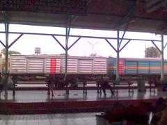 stasiun lempuyangan waktu jemput Irna