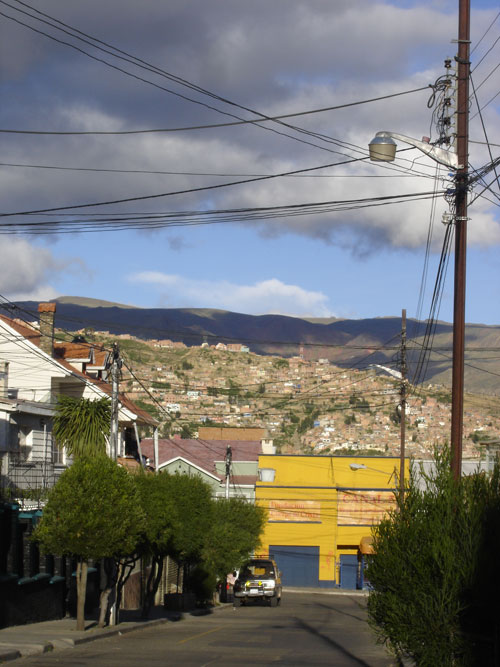 La Paz, Bolivia neighborhood
