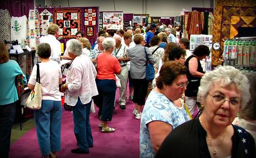AQS Quilt Show Vendor Exhibit Hall