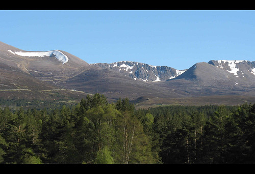 The northern corries of the Cairngorms