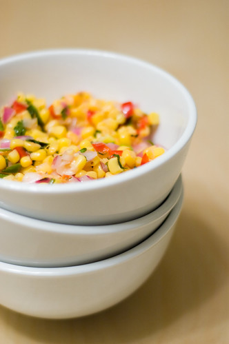 Oh, how I love thee, corn salsa... (by bookgrl)