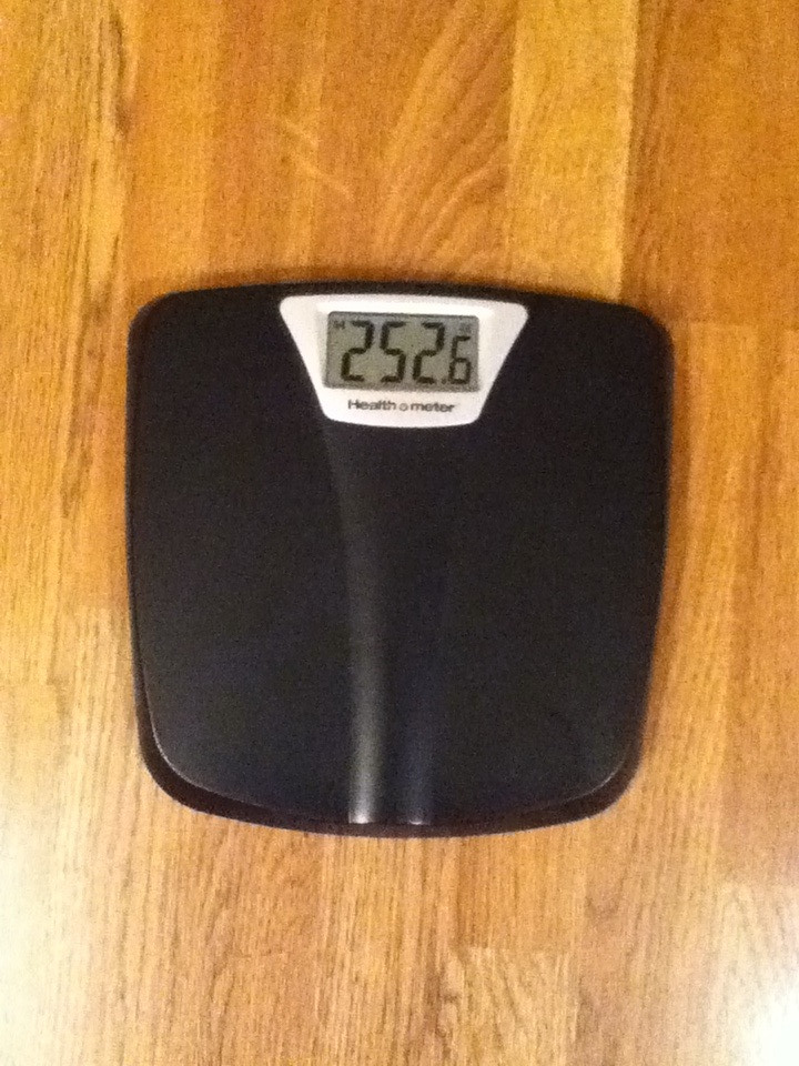 Week 5 weigh in