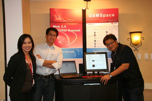 CEO Office 苦命三人組 @ GSM Space Booth