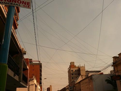 Une rue branchée de San Miguel de Tucuman