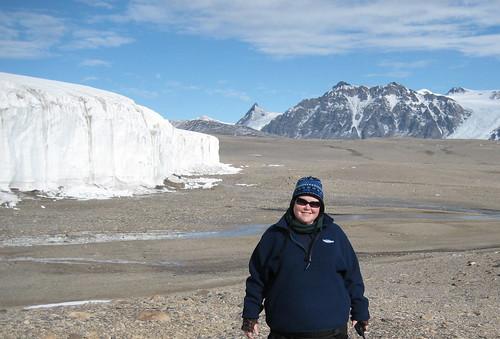 Breana at Howard Glacier