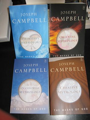 The Masks of God series by Joseph Campbell