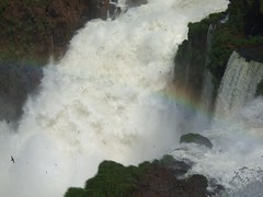 On the Argentinian side of the falls, 2007.