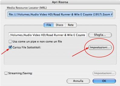 Sottotitoli SRT con VLC - 1