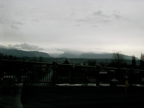 Off the bridge