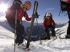 Nouvel an sur les skis